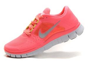 1077624abdf Nike Free Run +3 Pink 001 ...